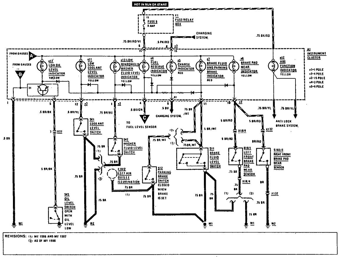 w124 stereo wiring diagram ce tech cat6 jack 1989 mercedes 300e engine auto