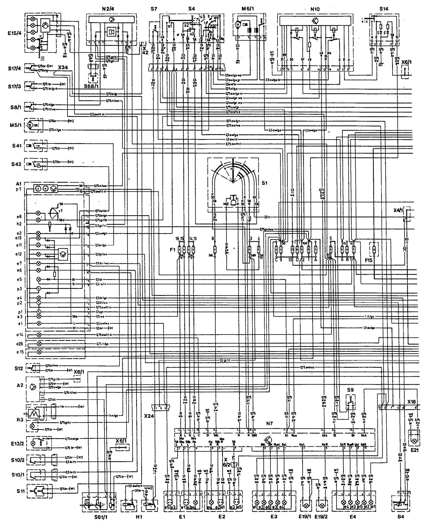 hight resolution of mercedes benz 300e engine diagram