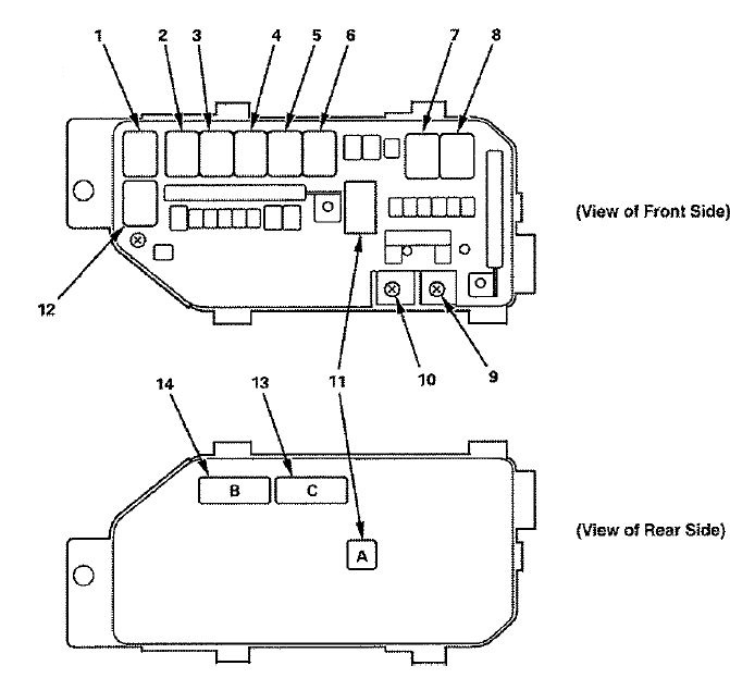 [DIAGRAM] 2002 Accord Fuse Box Diagram FULL Version HD