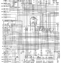 W124 500e Wiring Diagram Ecu Honda Civic Mercedes Benz 1992 1993 Diagrams