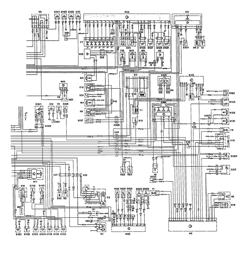 medium resolution of mercedes benz 300e 1992 1993 wiring diagrams hvac controls