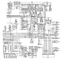 W124 500e Wiring Diagram Gas Hot Water Heater Thermostat Mercedes Benz 1992 1993 Diagrams