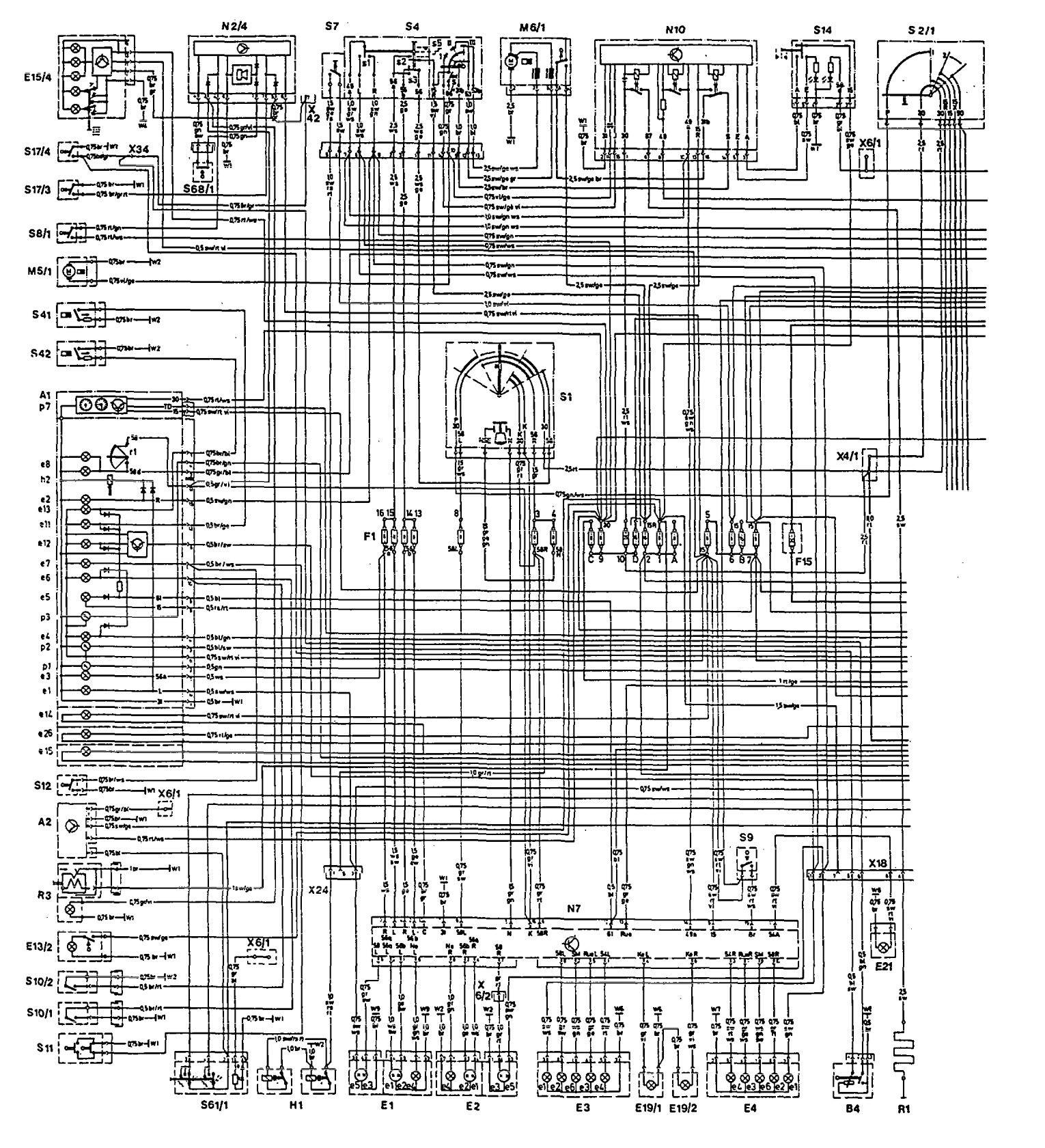 hight resolution of mercedes benz w124 200 200e 230e 260e 300e owners manual