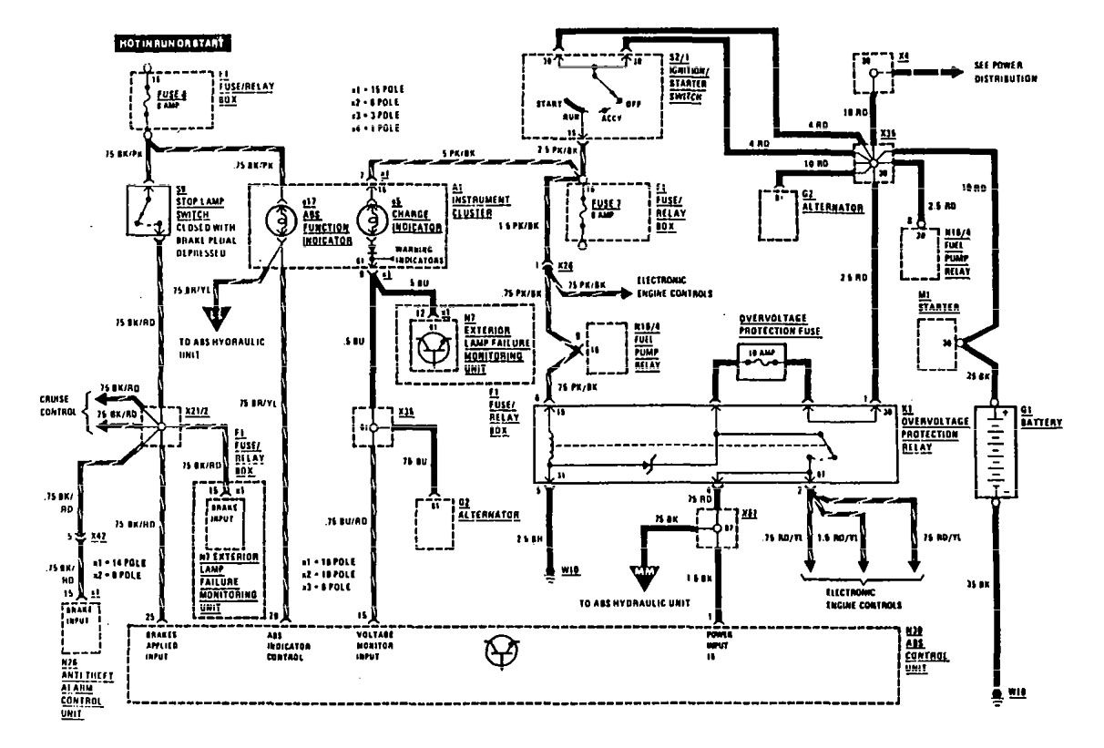 mercedes benz wiring diagrams w107