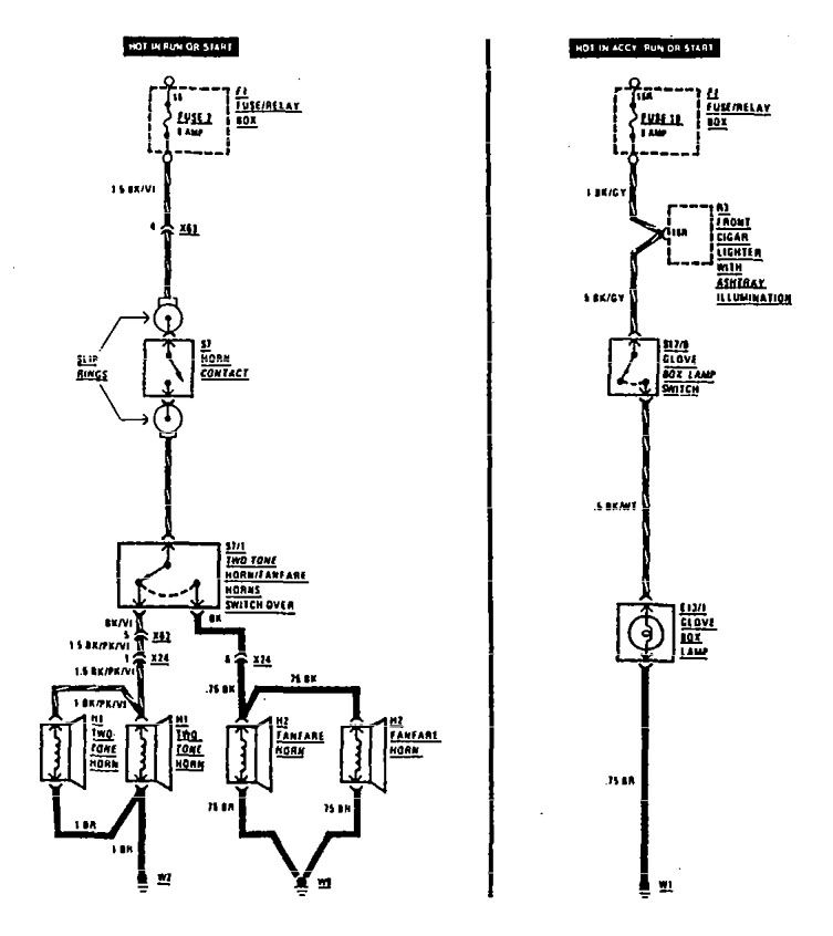 Mercedes Sprinter Horn Wiring Diagram