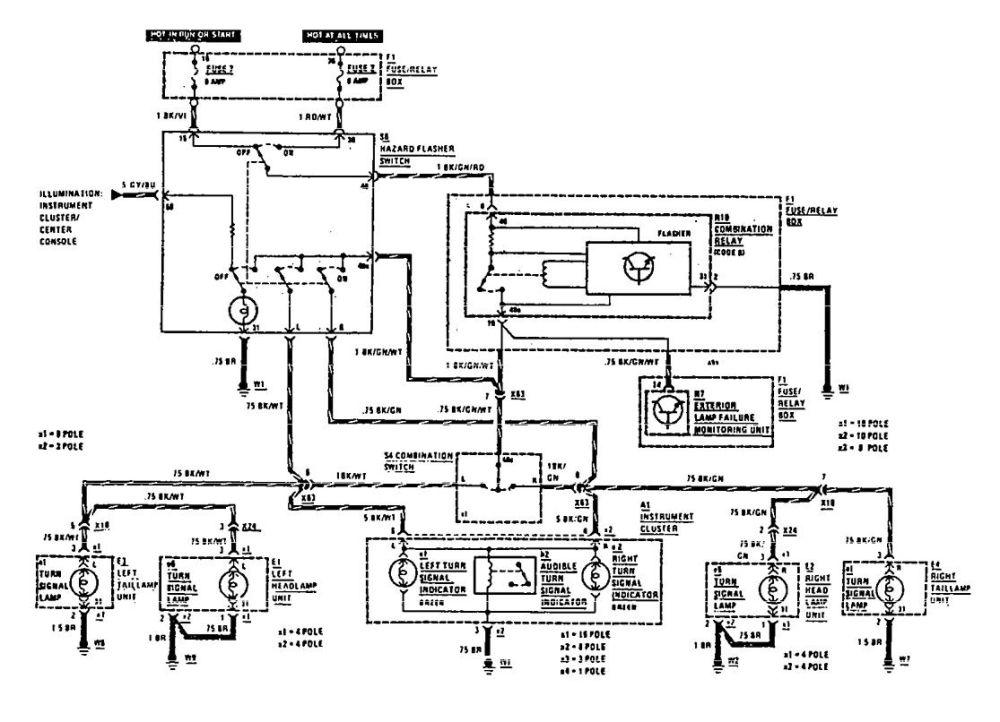 medium resolution of  mercedes benz 420sel 1990 wiring diagrams ground distribution on massey ferguson