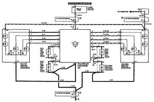 MercedesBenz 300SE (1990)  wiring diagrams  heated seats  CARKNOWLEDGE