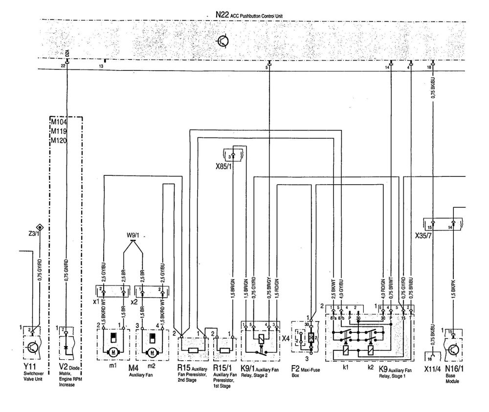 medium resolution of mercedes benz 300se 1992 1993 wiring diagram hvac hvac water chiller diagram thermostat wiring diagram
