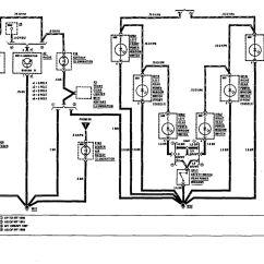 1992 Mercedes 500sl Wiring Diagram For Alternator Warning Light Benz 560sel 1991 Diagrams Instrument