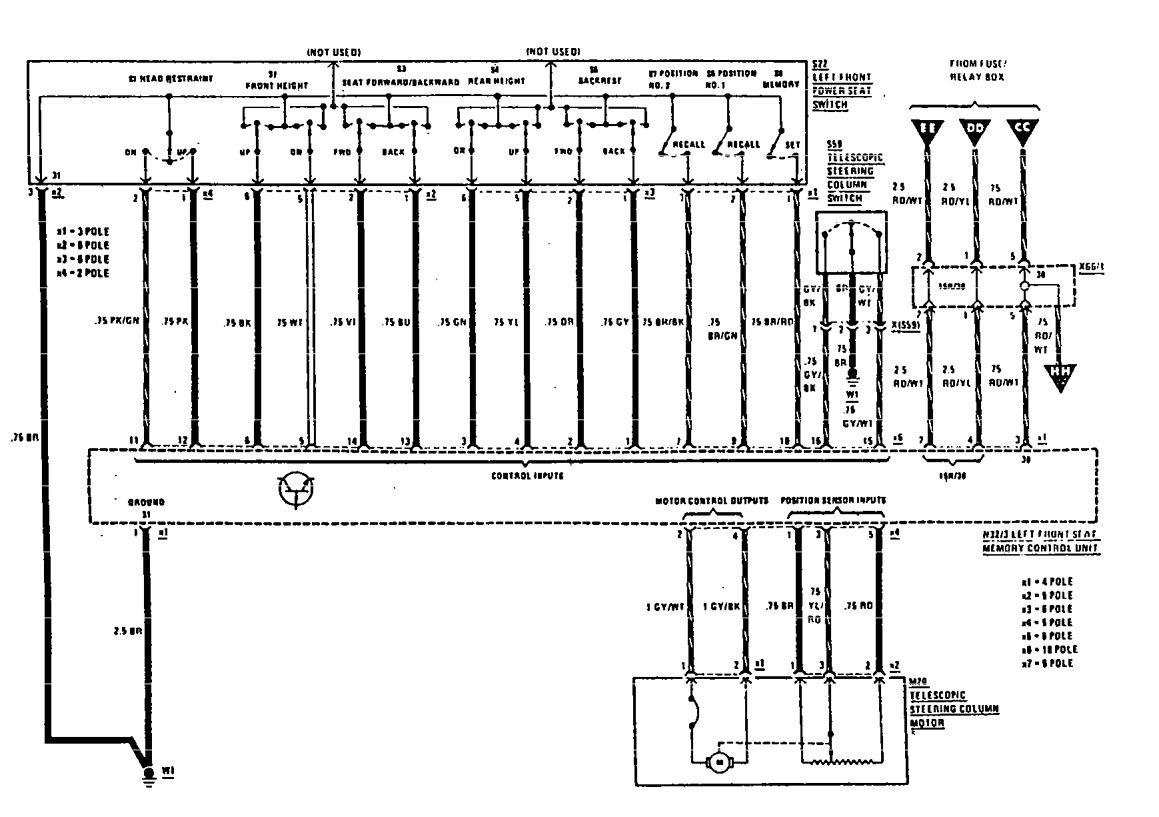 mercedes e500 wiring diagram 5w led driver circuit benz 560sl imageresizertool com