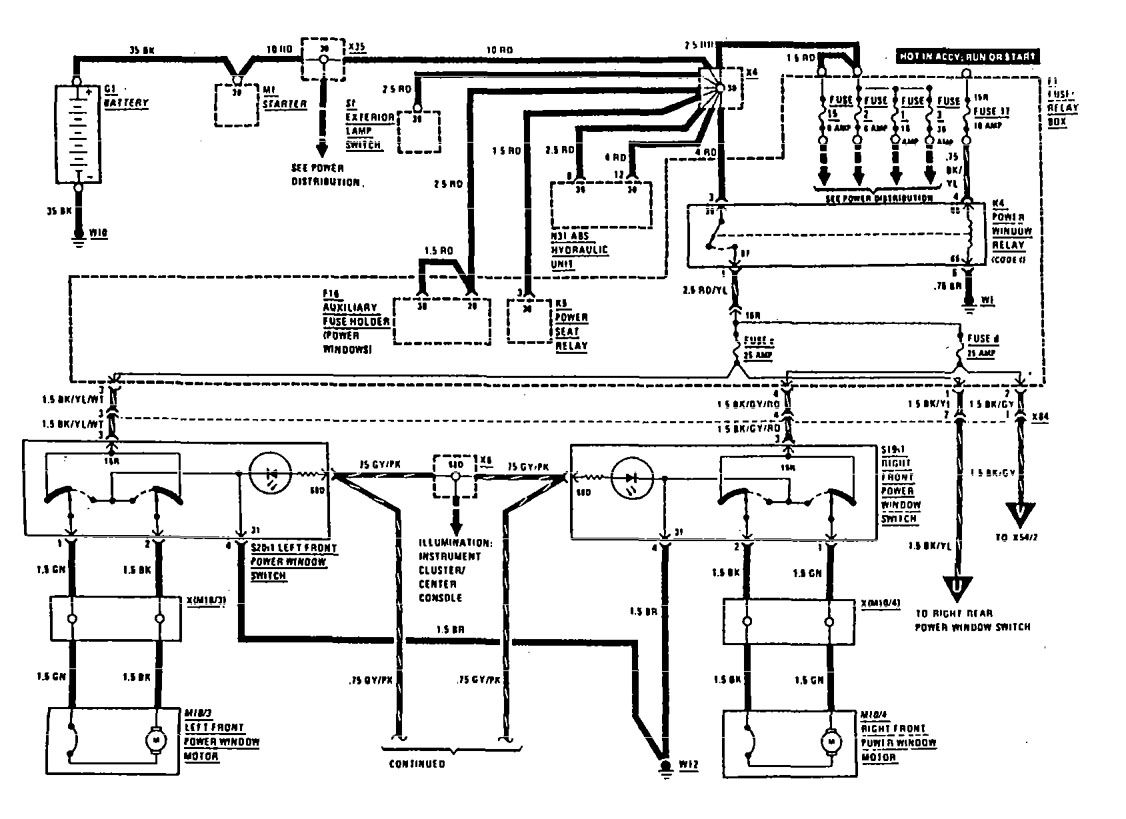 1995 mercedes sl500 wiring diagram 2009 kia spectra radio benz 1990 500sl electrical