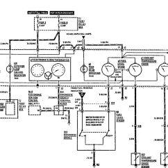 Lambretta Wiring Diagram With Indicators 6 Way Trailer Plug Mercedes Benz 420sel 1990 1991 Diagrams
