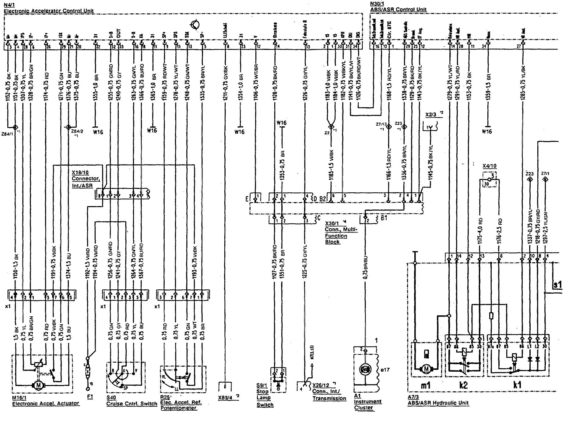 hight resolution of mercedes benz 300sl wiring diagram abs part 1
