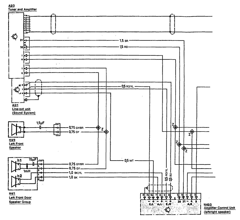hight resolution of mercedes benz 300sl wiring diagram audio part 1