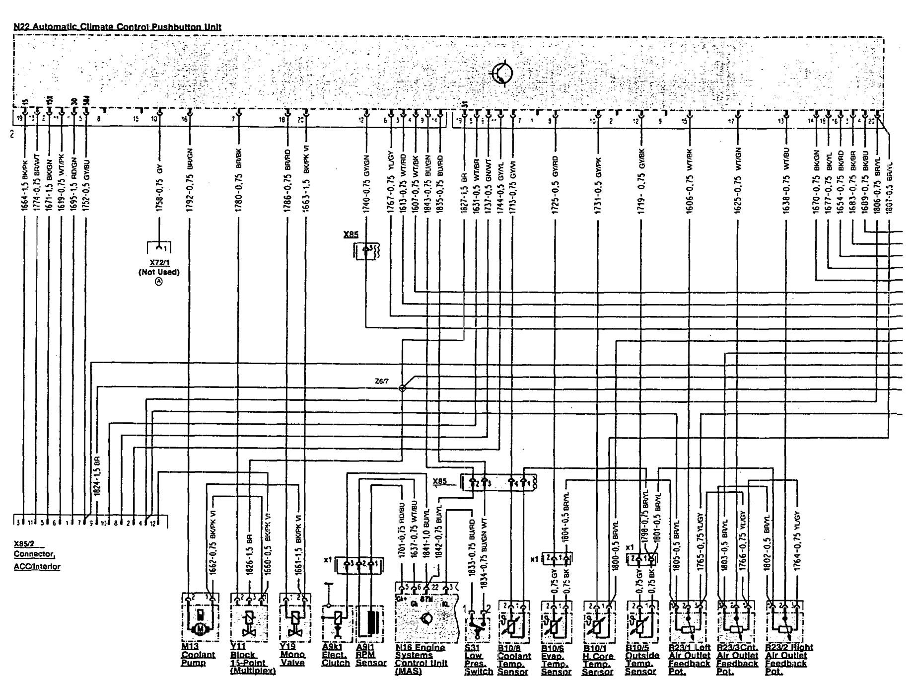 hight resolution of mercedes benz 300sl 1990 1993 wiring diagrams