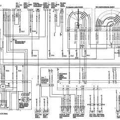 1992 Mercedes 500sl Wiring Diagram 91 Crx Stereo Benz 1990 Diagrams Side