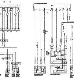 mercedes benz 300sl wiring diagram wiper washer part 2  [ 1627 x 1383 Pixel ]
