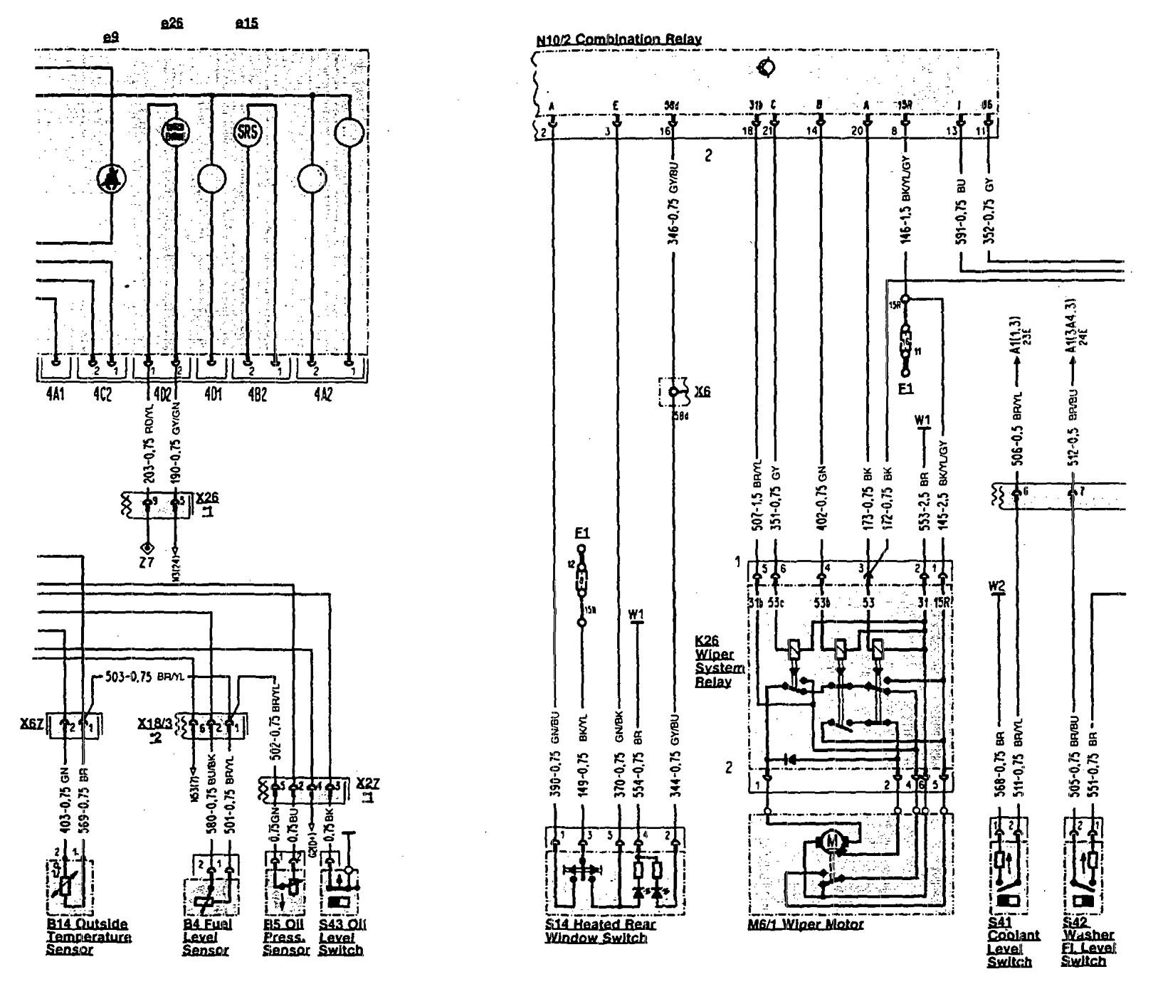 1992 mercedes 500sl wiring diagram for 2001 ford f150 starter solenoid benz 300sl 1990 1993 diagrams