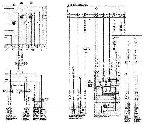 small resolution of  mercedes benz 300sl wiring diagram wiper washer part 2