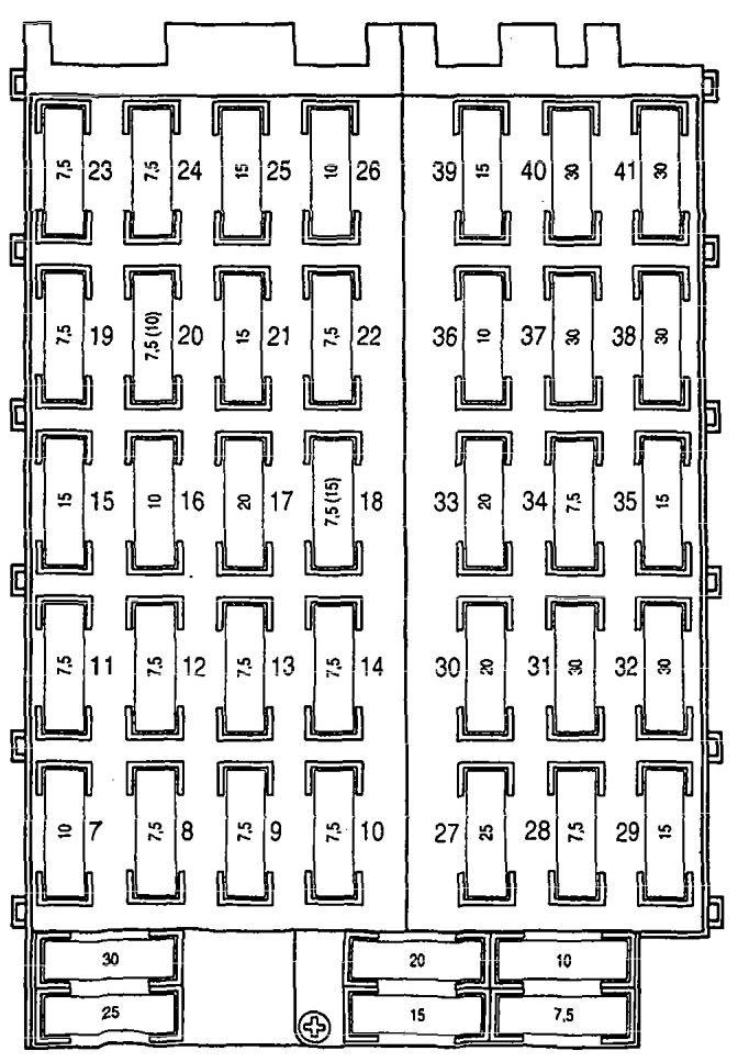 mercedes-benz 300sd 1992 - 1993 - wiring diagrams