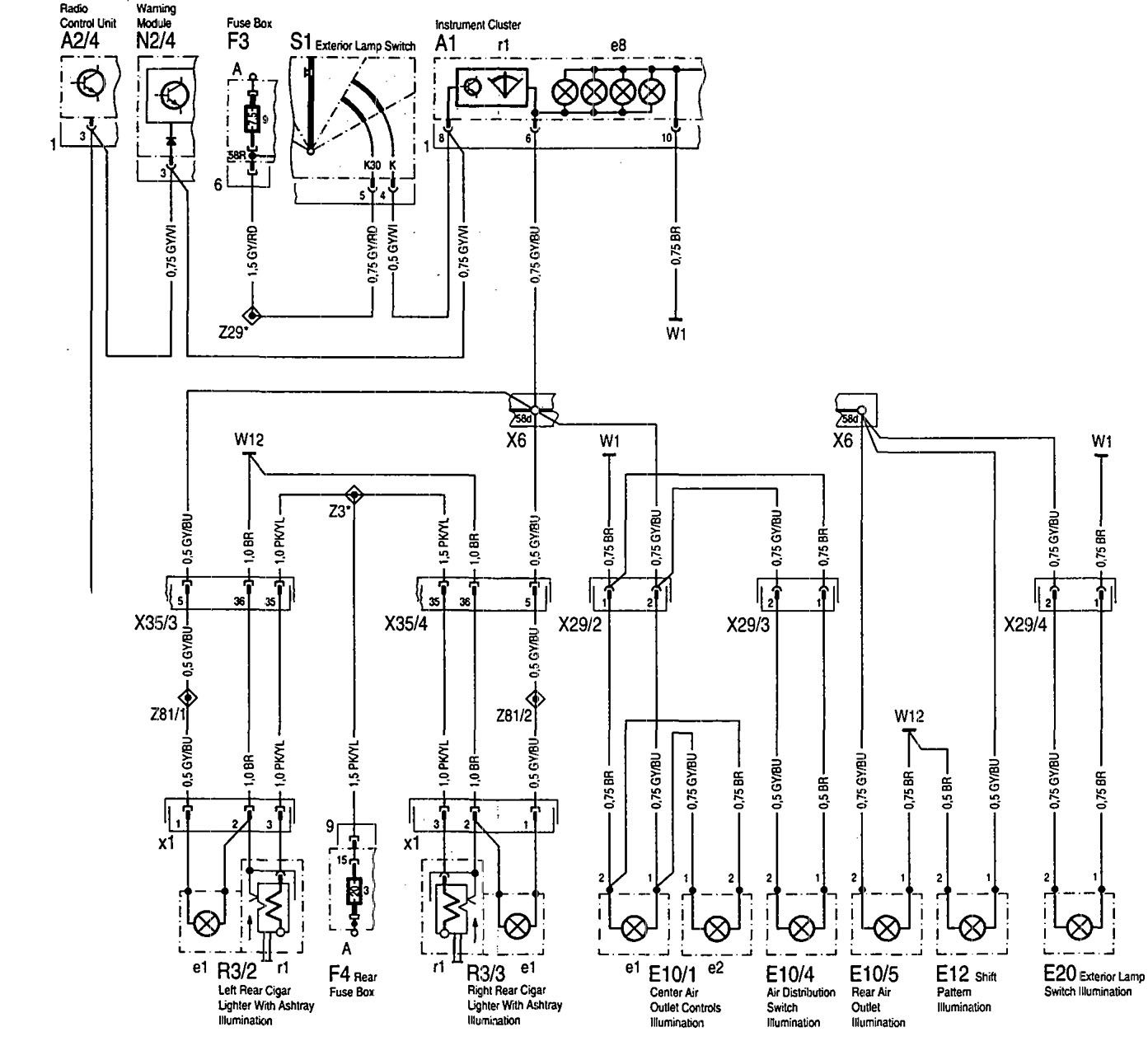 Mercedes 300sd Fuse Box Diagram Mercedes Engine Diagram