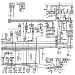 Car Charging System Wiring Diagram Lamp Diagrams Mercedes Benz 300te 1992 1993