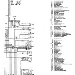 Car Charging System Wiring Diagram Vz Stereo Mercedes Benz 300te 1992 1993 Diagrams