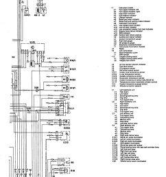 mercedes benz 300te 1992 1993 wiring diagrams exterior lighting [ 1309 x 1785 Pixel ]