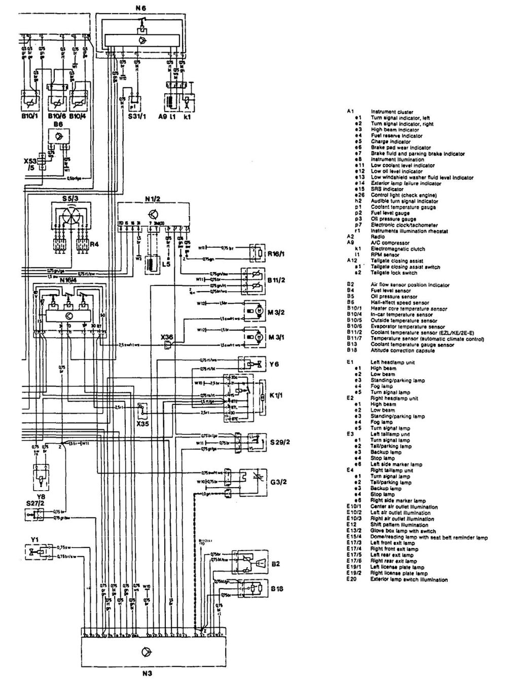 medium resolution of mercedes 400 wiring diagram