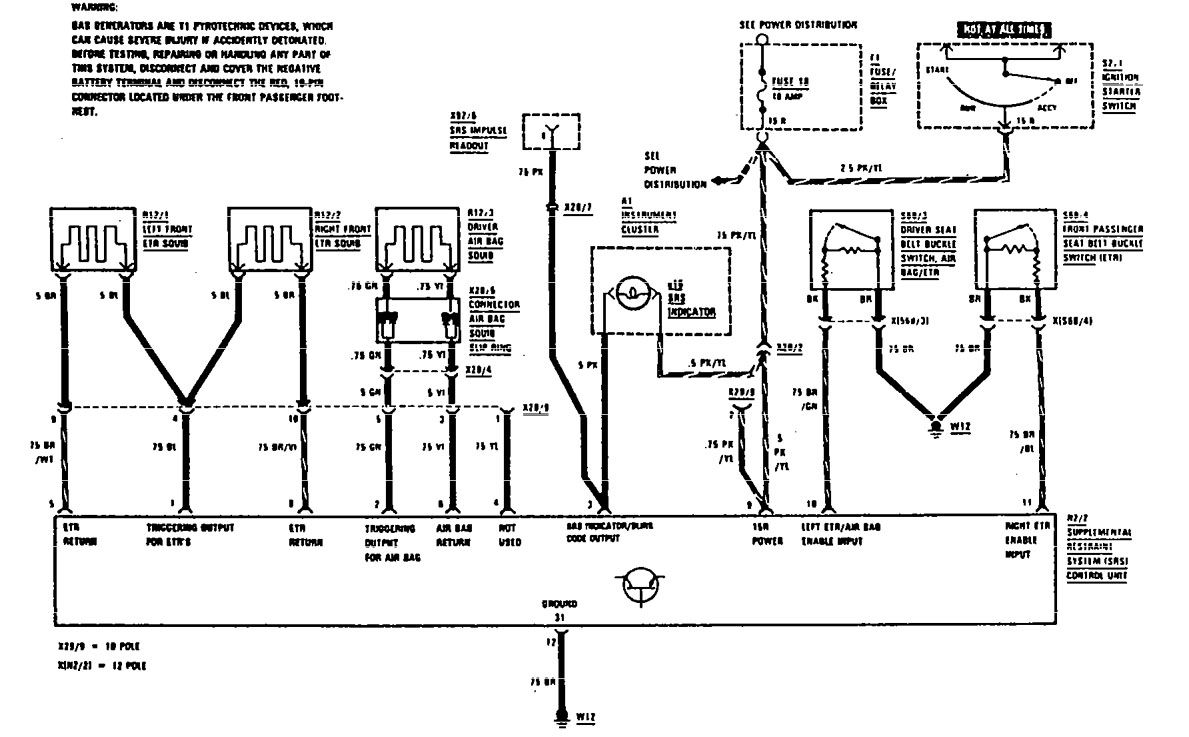 hight resolution of mercedes benz 560sec 1990 wiring diagrams