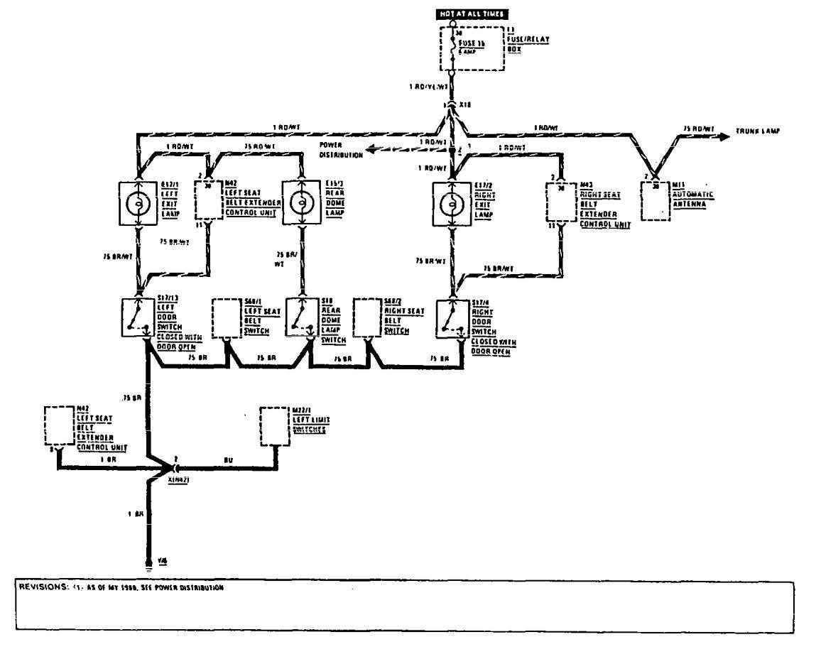 w124 500e wiring diagram 2001 honda prelude speaker mercedes benz 560sec 1990 diagrams courtesy