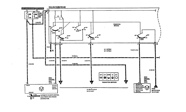 hight resolution of mercedes benz 560sec wiring diagram hvac controls part 1
