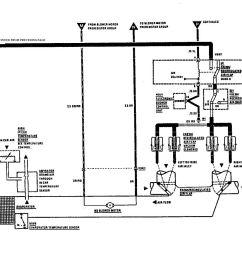 mercedes benz 560sec wiring diagram hvac controls part 2  [ 1493 x 924 Pixel ]