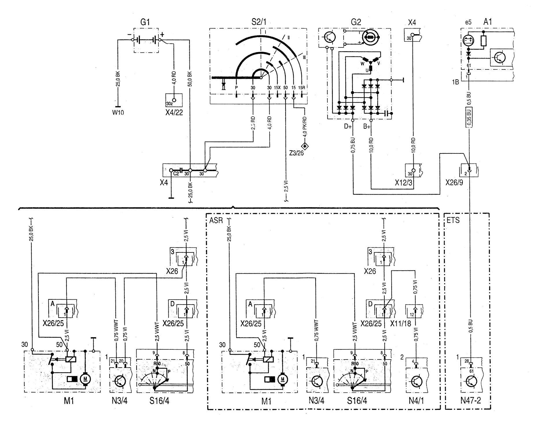 Mercedes 220 Wiring Auto Electrical Wiring Diagram