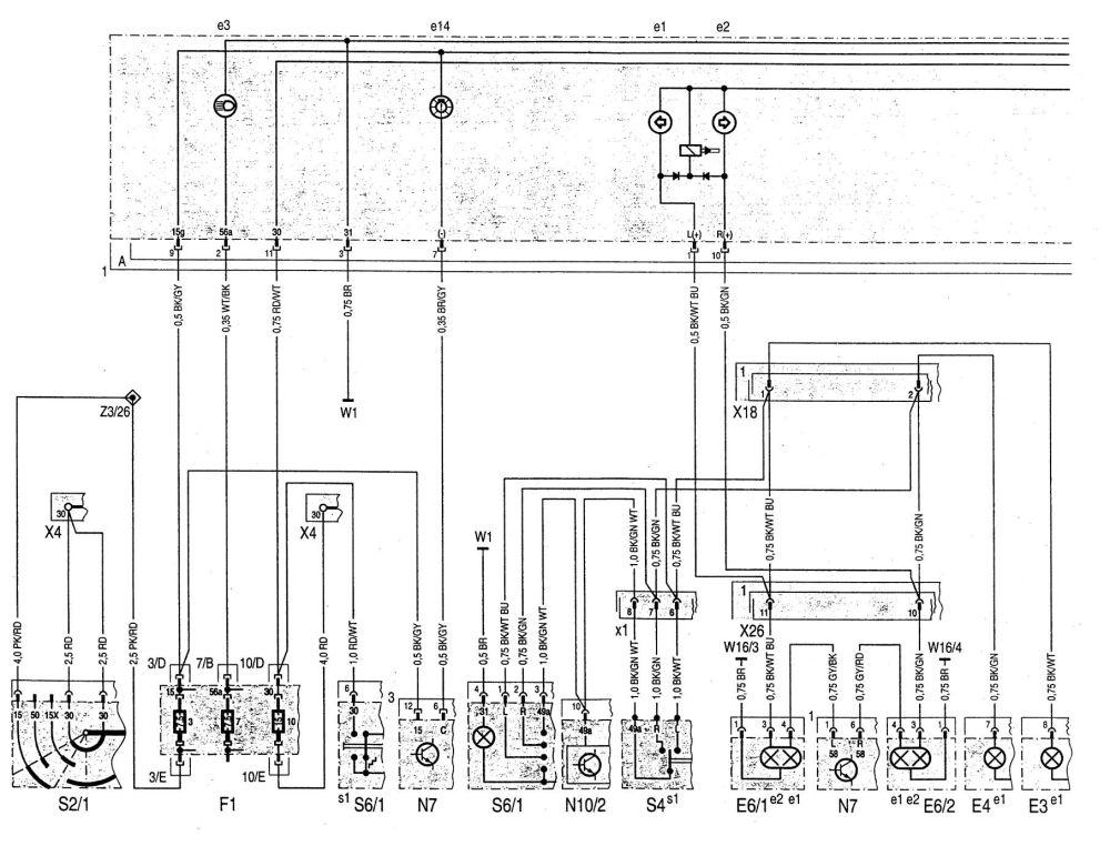 medium resolution of mercedes benz c220 wiring diagram instrumentation part 1