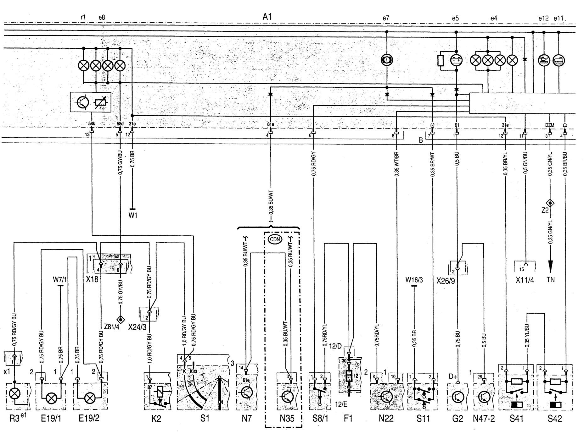 Audi Can Bu Wiring Diagram
