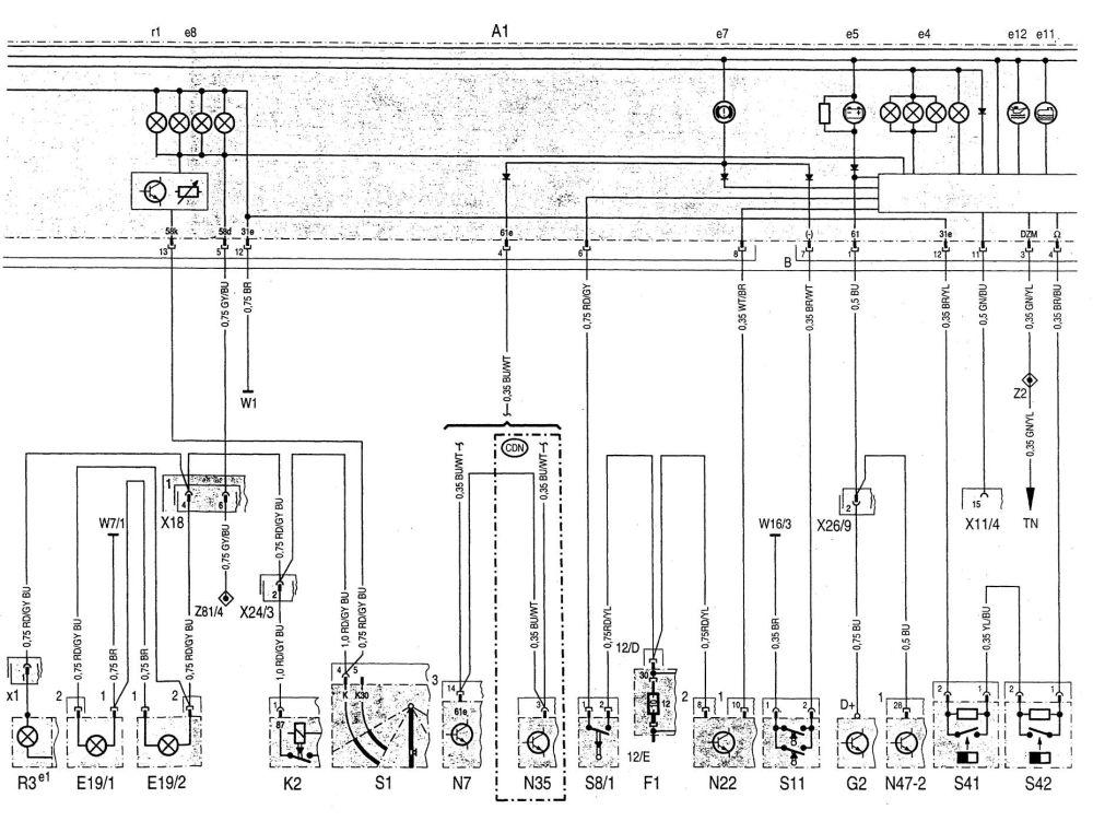 medium resolution of  mercedes benz c220 wiring diagram instrumentation part 2