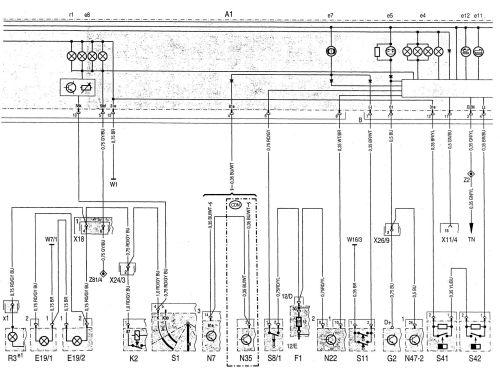 small resolution of  mercedes benz c220 wiring diagram instrumentation part 2