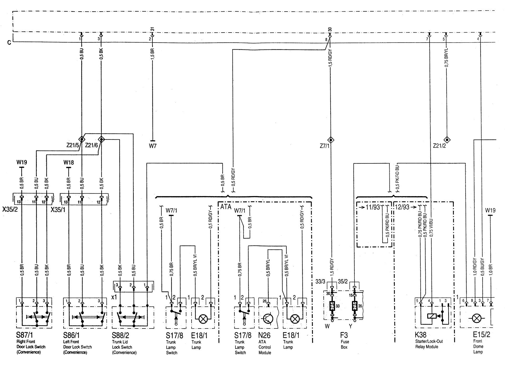 hight resolution of  chevy venture power door lock wiring diagram on ford ranger door lock diagram