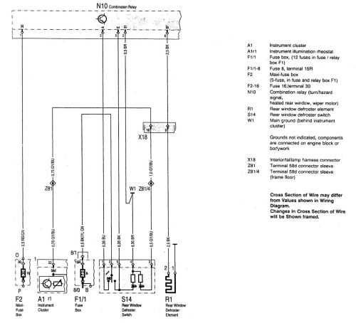 small resolution of mercedes benz c220 wiring diagram rear window defogger