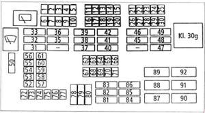 BMW 3 Series (E90, E91, E92, E93) (2005 – 2010) – fuse box diagram  CARKNOWLEDGE