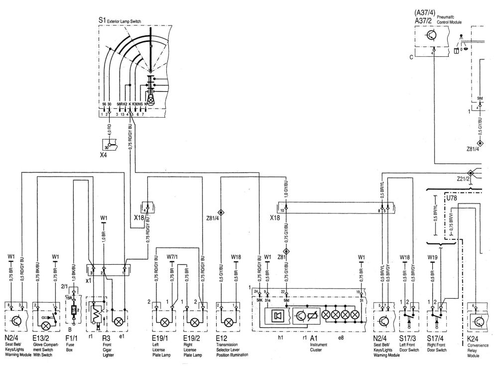 medium resolution of mercedes benz c280 1994 1997 wiring diagrams exterior mercedes benz c220 wiring diagram exterior