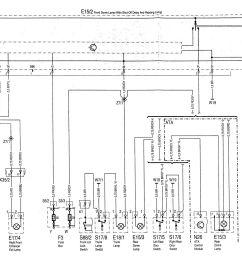 mercedes benz c220 wiring diagram exterior lighting part 2  [ 1970 x 1409 Pixel ]