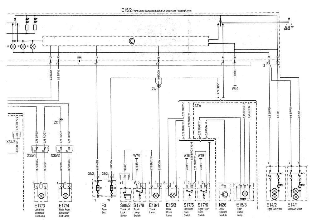 medium resolution of  mercedes benz c220 wiring diagram exterior lighting part 2