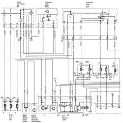 1995 Mercedes Sl500 Wiring Diagram Da3000 Door Access Benz C280 1994 1997 Diagrams