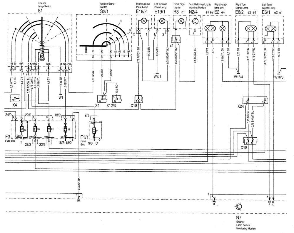 medium resolution of mercedes benz c280 1994 1997 wiring diagrams interior mercedes intake manifold diagram mercedes wire