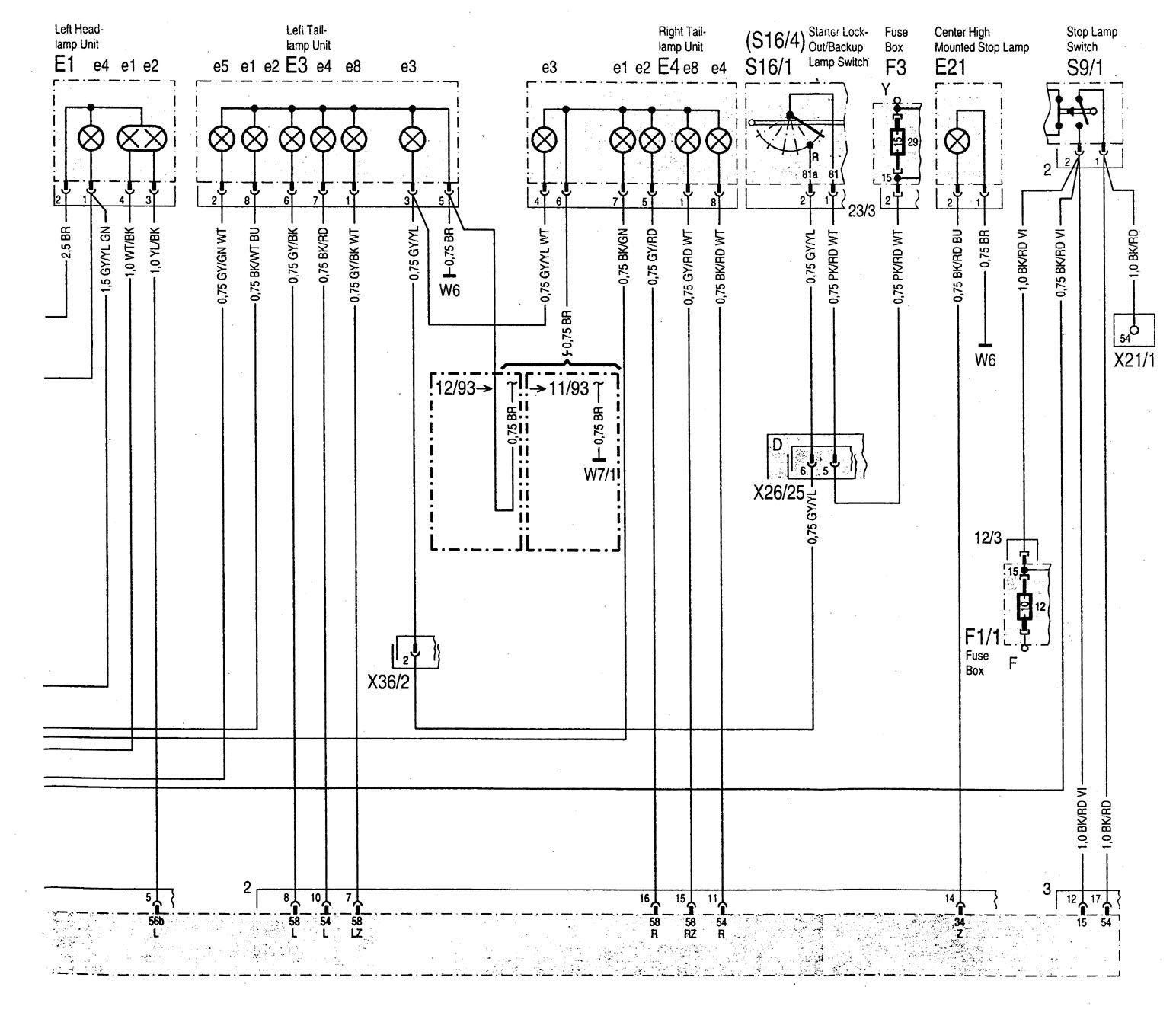 hight resolution of  mercedes benz c220 wiring diagram interior lighting part 3