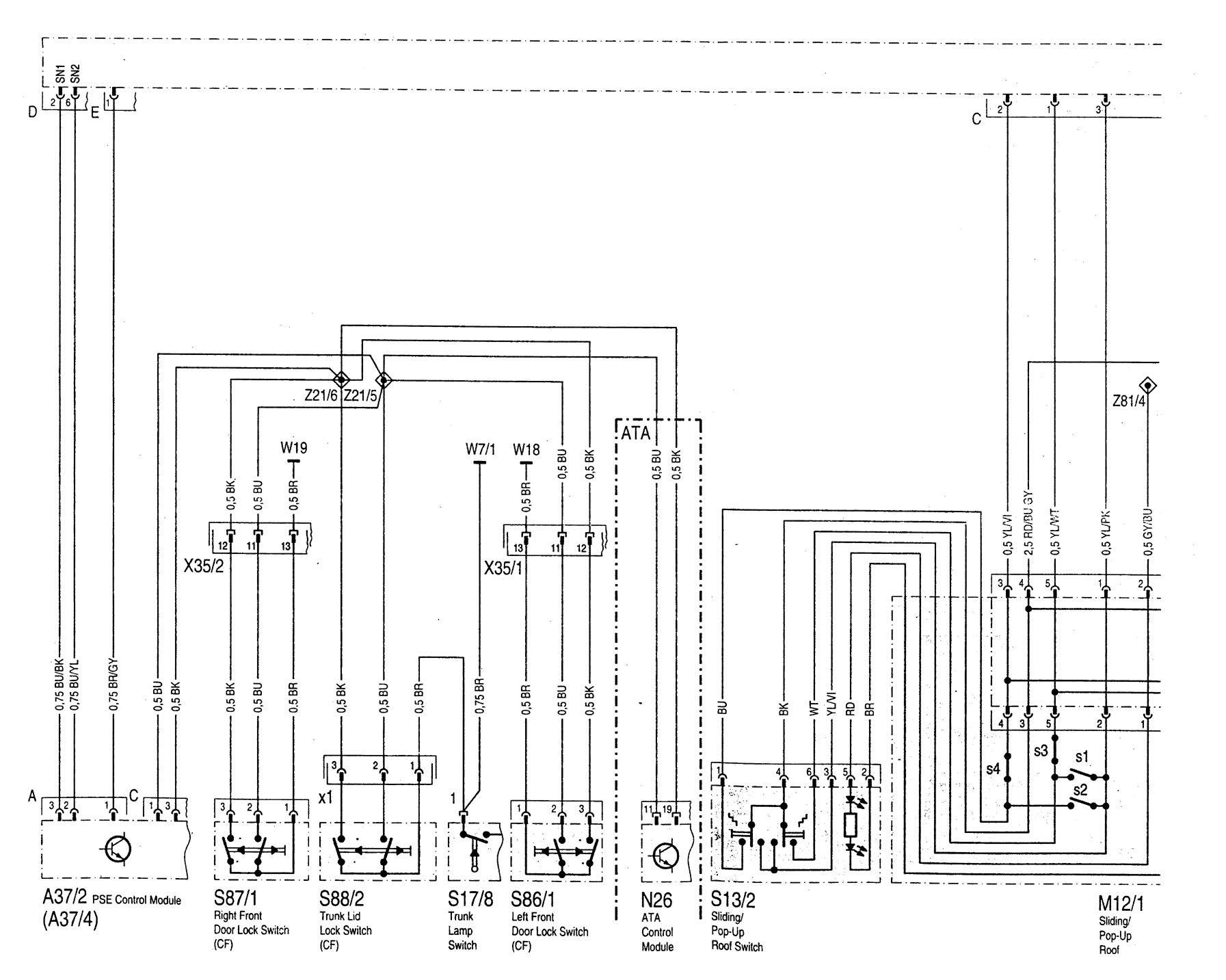 hight resolution of mercedes benz c220 wiring diagram power windows part 1