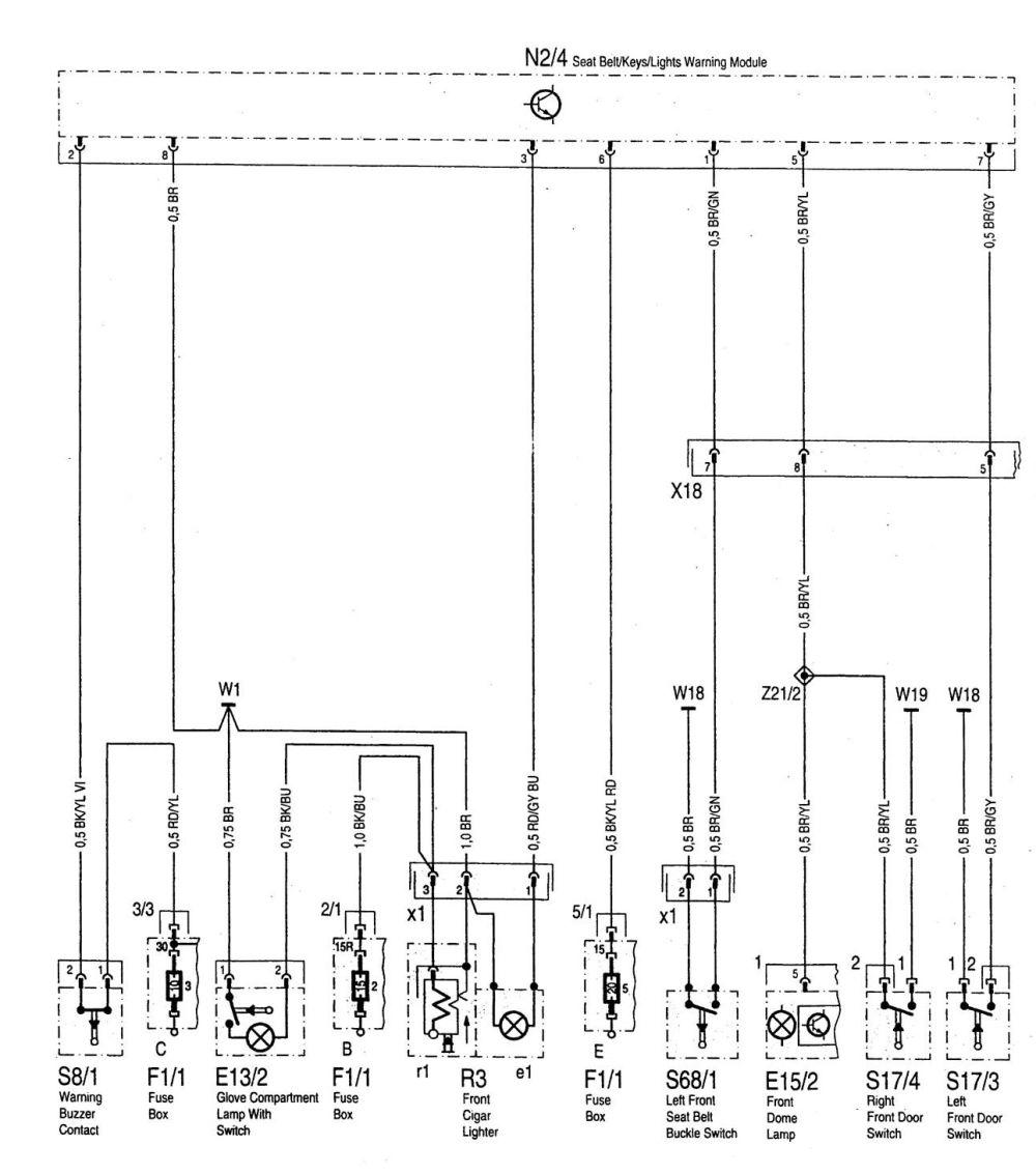 medium resolution of mercedes benz c220 wiring diagram seat belt warning