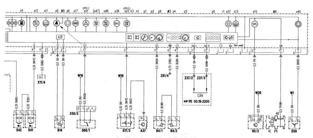 medium resolution of  mercedes benz c280 wiring diagram instrumentation part 2